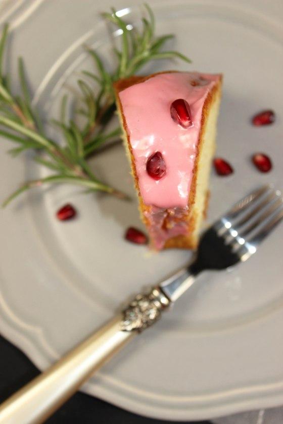 Blutorangenkuchen mit Rosmarin -1