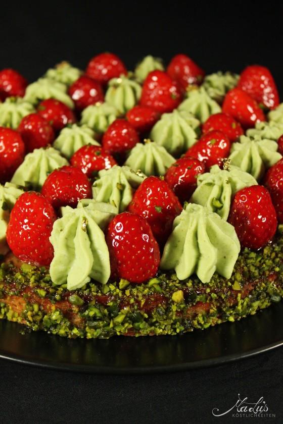 Erdbeer-Pistazien Tarte_1034f