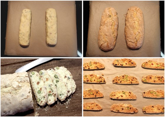 Biscotti Zubereitung