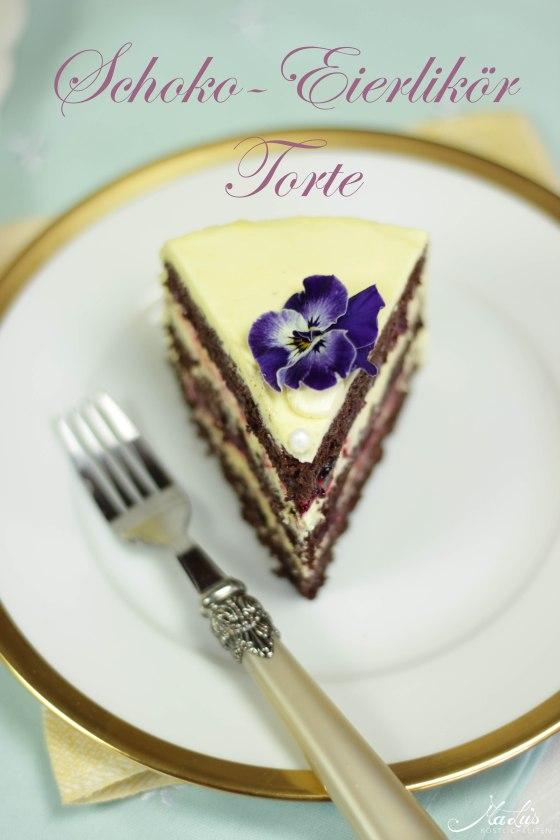 Schoko-Eierlikör Torte 4b