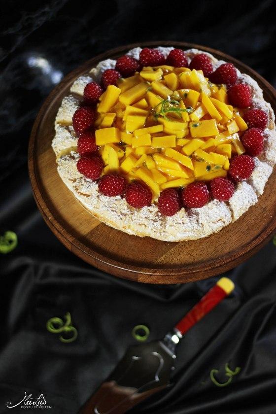 Mango-Kokosmakronen Torte | MaLu's Köstlichkeiten 1
