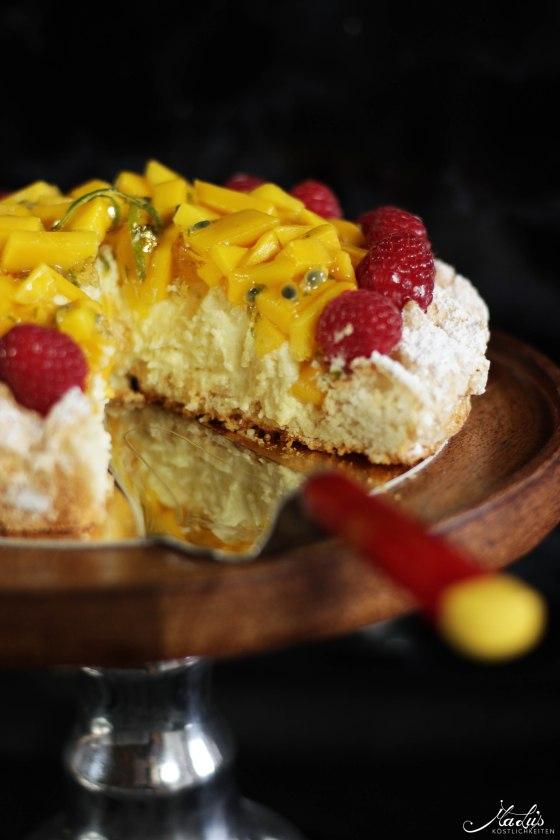 Mango-Kokosmakronen Torte | MaLu's Köstlichkeiten 7