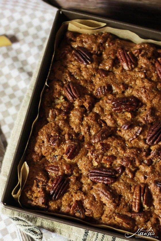 Pecancrumble Kuchen mit Dulce di Leche 12