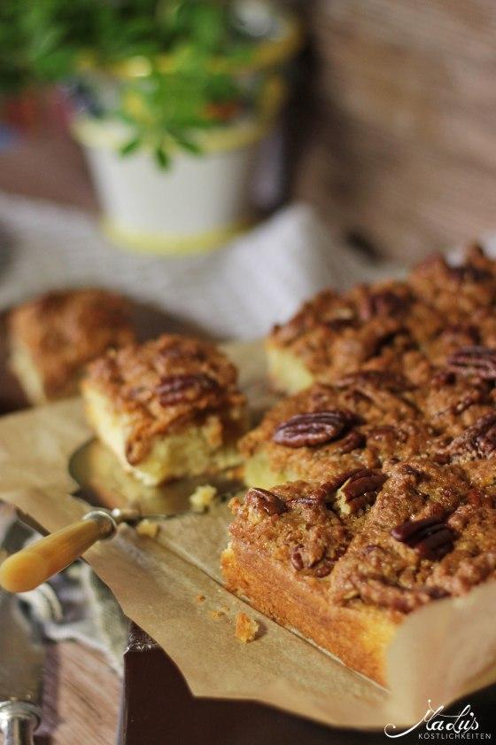 Pecancrumble Kuchen mit Dulce di Leche 13