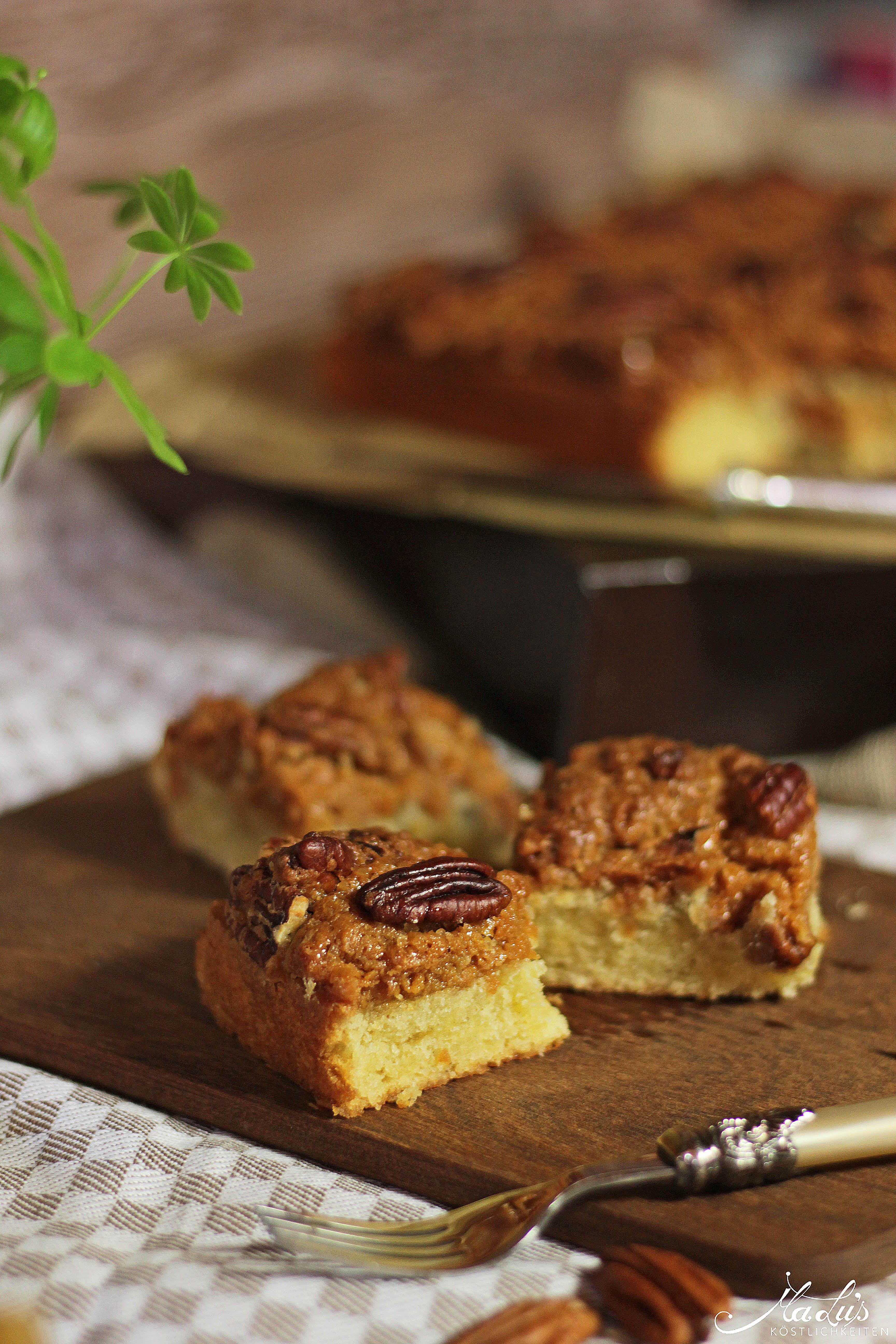 Pecancrumble Kuchen mit Dulce di Leche 2