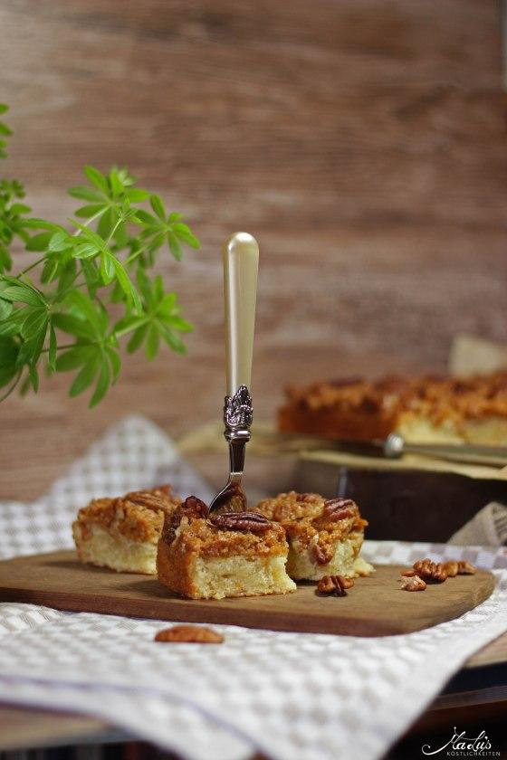 Pecancrumble Kuchen mit Dulce di Leche 9