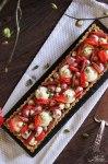 Pistazientarte mit Erdbeeren & Rhabarber 13