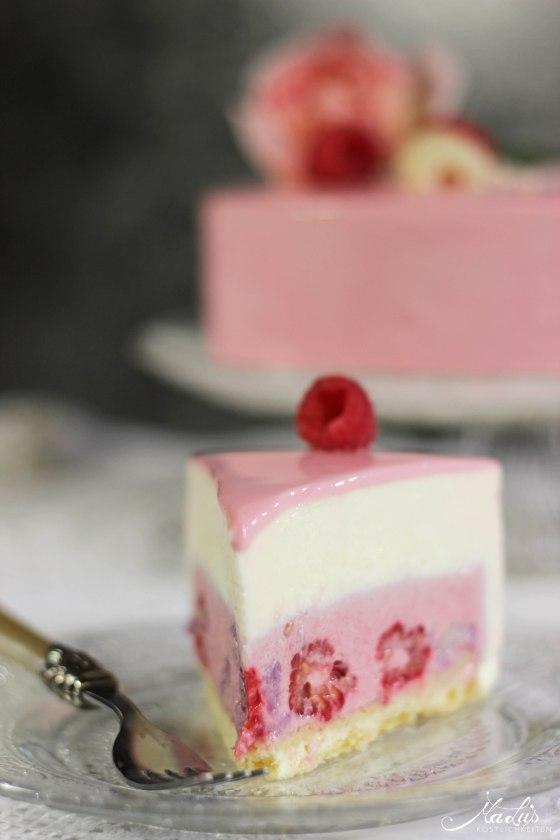 Himbeer-Lychee-Rosen Torte %22Ispahan%22 5