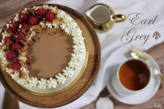 Earl Grey Schokoladentorte mit Himbeeren 11 a