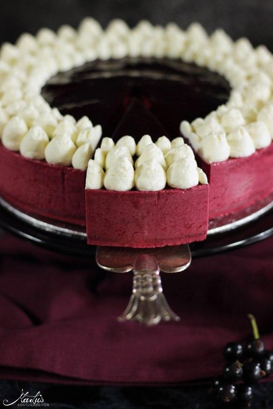Johannisbeer-Mascarpone Torte 3