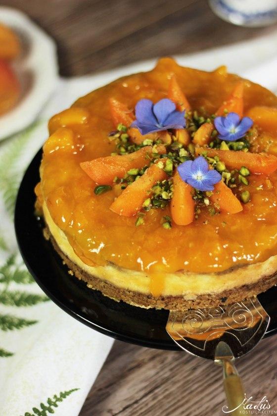 Pistaziencheesecake mit Aprikosen 1
