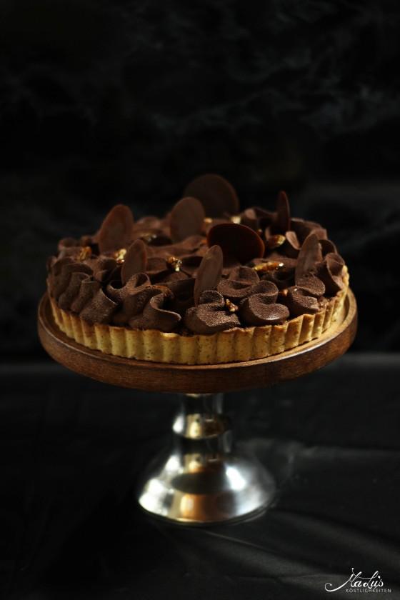 Schokoladen Vanille Tarte