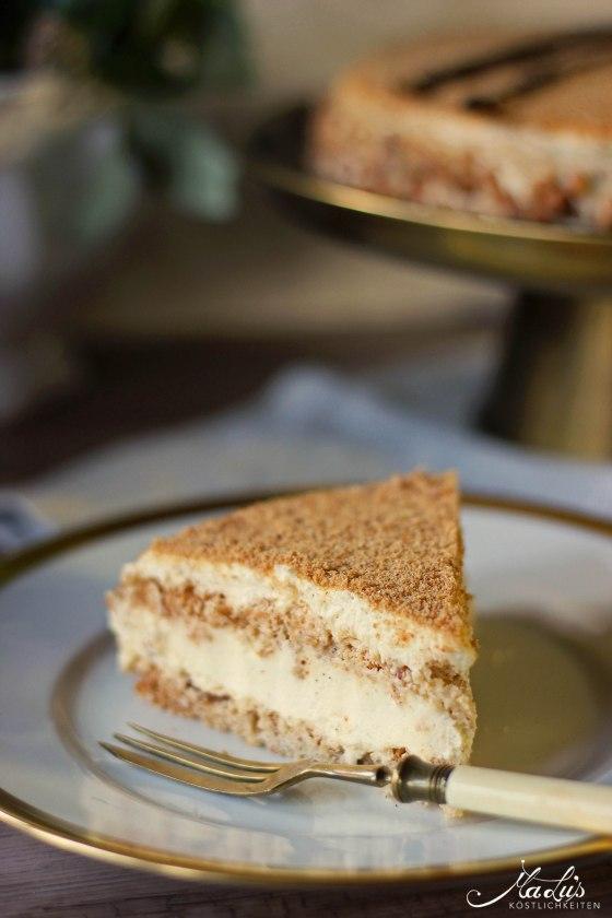"""Vanille-Mandelbaiser Torte """"Succès Vanille"""""""