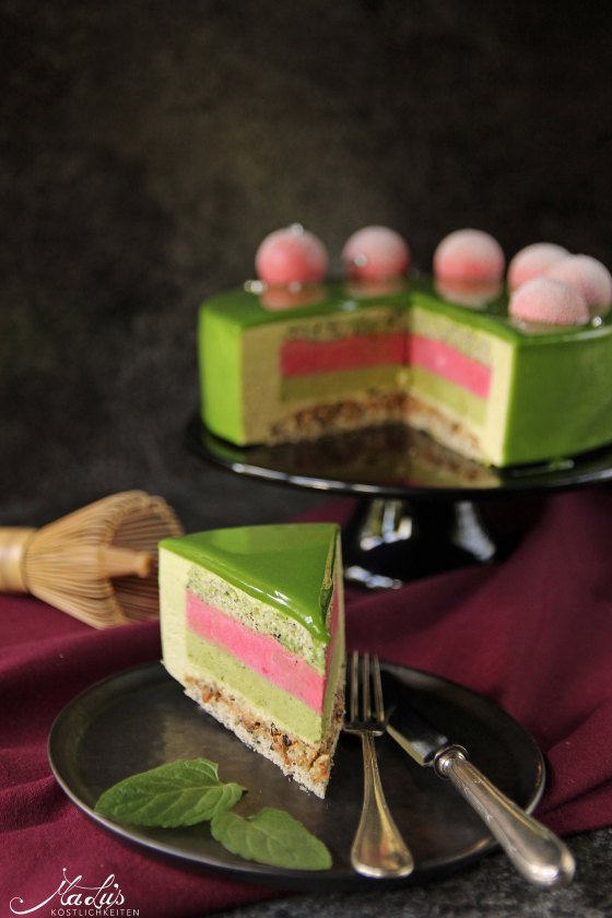 Matcha-Limetten Torte
