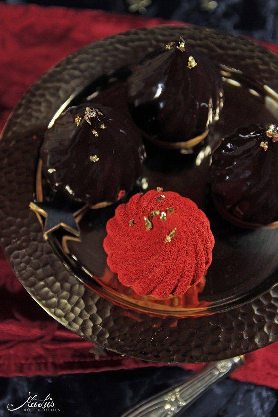 Karamell-Schokoladen Törtchen