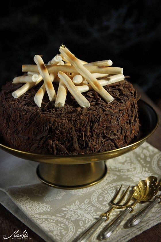 Schokoladen-Baisertorte
