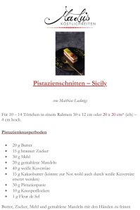 Pistazienschnitten-Sicily Rezeptdruck